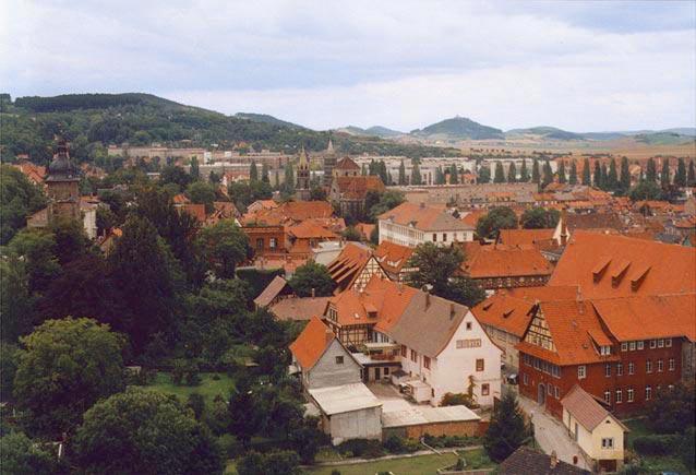 Blick über die Altstadt