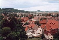 Viev over the old part of the town