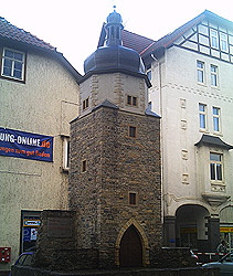 Das Erfurter Tor (Rekonstruktion)