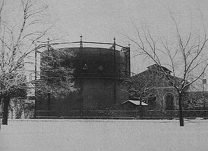 Das alte Gaswerk in der Gerastrasse