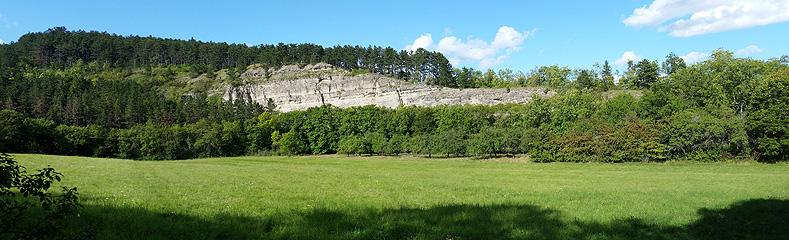 Der Jungfernsprung bei Arnstadt