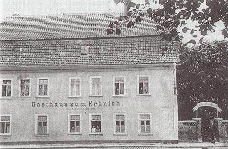 Das ehemalige Gasthaus zum Kranich