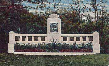 Das ehemalige Marlitt-Denkmal