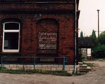 Detailansicht Bahnhof Arnstadt-Ost
